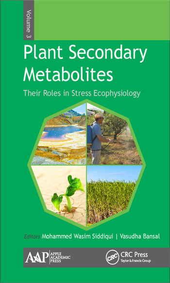 Plant Secondary Metabolites, Volume Three Their Roles in Stress Eco-physiology book cover