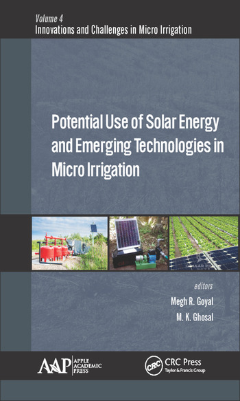 Potential Use of Solar Energy and Emerging Technologies in Micro Irrigation book cover
