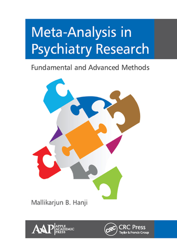Meta-Analysis in Psychiatry Research Fundamental and Advanced Methods book cover
