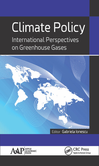 Climate Policy International Perspectives on Greenhouse Gases book cover