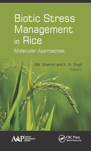 Biotic Stress Management in Rice Molecular Approaches book cover