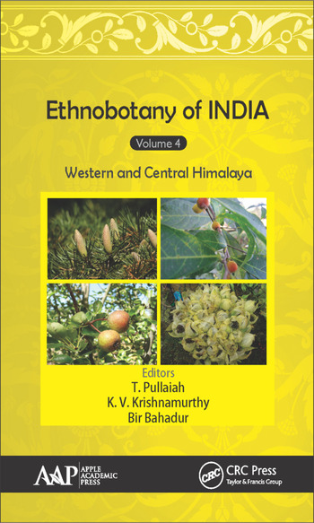 Ethnobotany of India, Volume 4 Western and Central Himalayas book cover