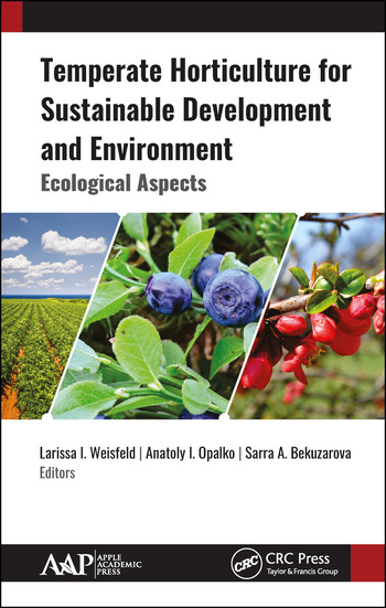 Temperate Horticulture for Sustainable Development and Environment Ecological Aspects book cover