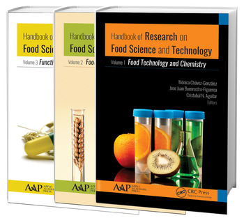 Handbook of Research on Food Science and Technology 3 Volume Set book cover