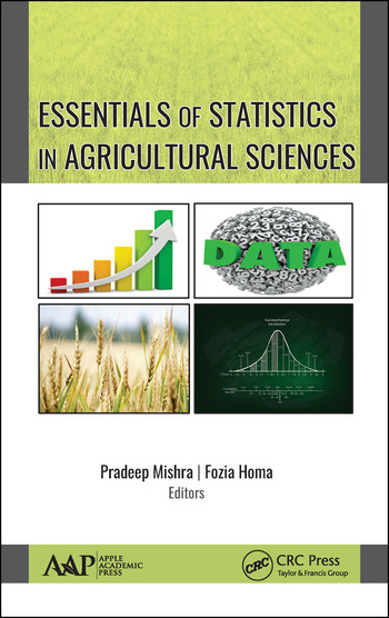 Essentials of Statistics In Agricultural Sciences book cover