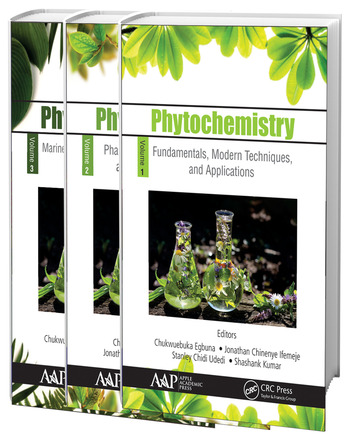 Phytochemistry, 3-Volume Set Volume 1: Fundamentals, Modern Techniques, and Applications; Volume 2: Pharmacognosy, Nanomedicine, and Contemporary Issues; Volume 3: Marine Sources, Industrial Applications, and Recent Advances book cover