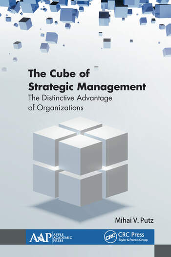 The Cube of Strategic Management The Distinctive Advantage of Organizations book cover