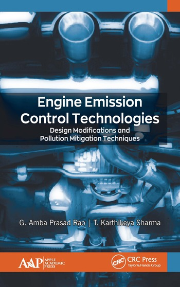 Engine Emission Control Technologies Design Modifications and Pollution Mitigation Techniques book cover
