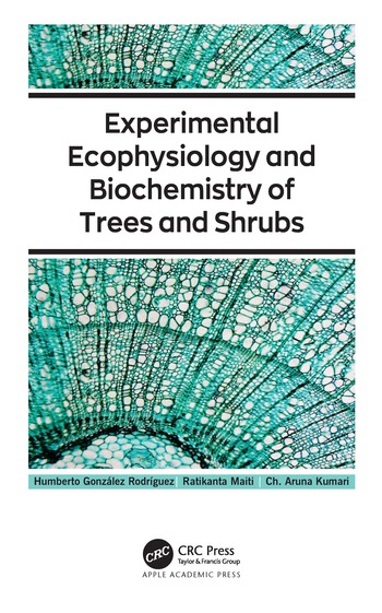 Experimental Ecophysiology and Biochemistry of Trees and Shrubs book cover