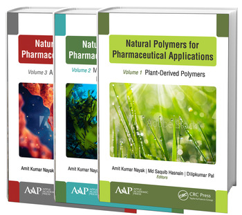 Natural Polymers for Pharmaceutical Applications, 3-volume set Volume 1: Plant-Derived Polymers, Volume 2: Marine- and Microbiologically Derived Polymers, and Volume 3: Animal-Derived Polymers book cover