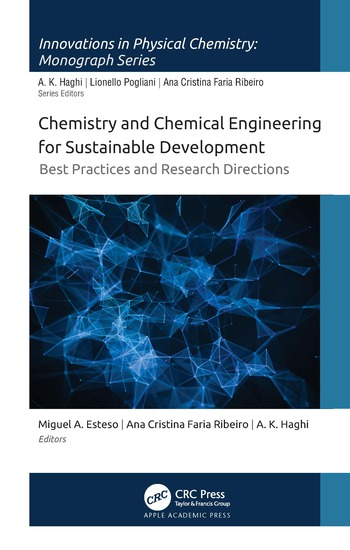 Chemistry and Chemical Engineering for Sustainable Development Best Practices and Research Directions book cover