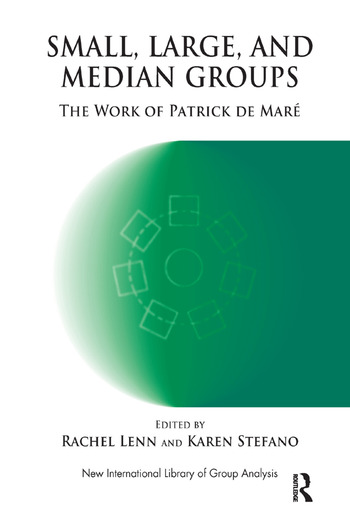 Small, Large and Median Groups The Work of Patrick de Mare book cover