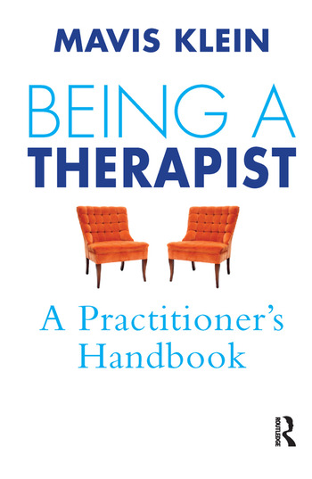 Being a Therapist A Practitioner's Handbook book cover