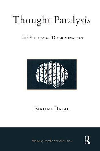 Thought Paralysis The Virtues of Discrimination book cover