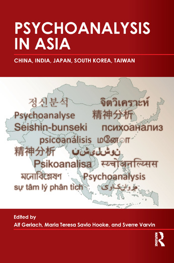 Psychoanalysis in Asia book cover