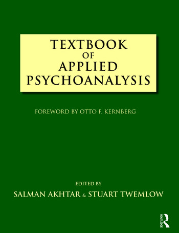 Textbook of Applied Psychoanalysis book cover