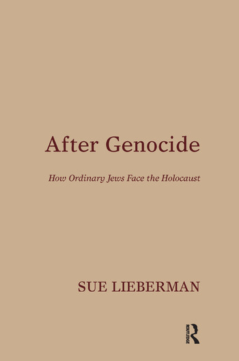 After Genocide How Ordinary Jews Face the Holocaust book cover