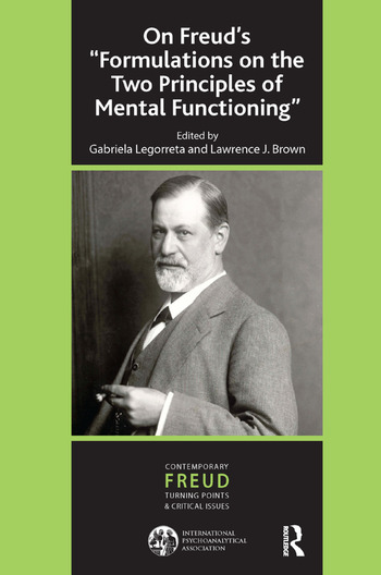 On Freud's ''Formulations on the Two Principles of Mental Functioning'' book cover