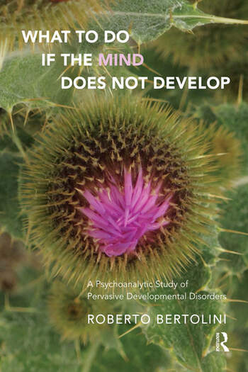 What To Do If the Mind Does Not Develop A Psychoanalytic Study of Pervasive Developmental Disorders book cover