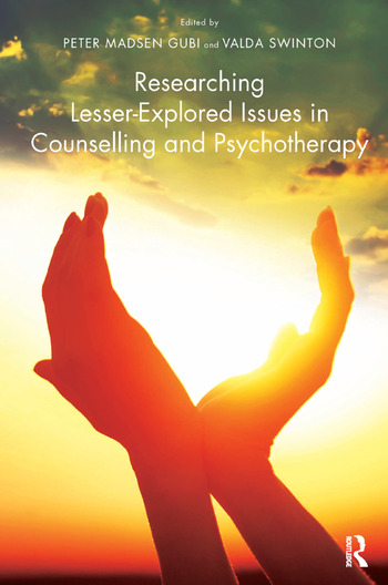 Researching Lesser-Explored Issues in Counselling and Psychotherapy book cover