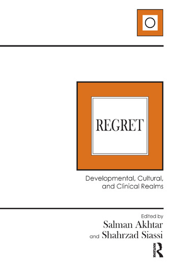 Regret Developmental, Cultural, and Clinical Realms book cover