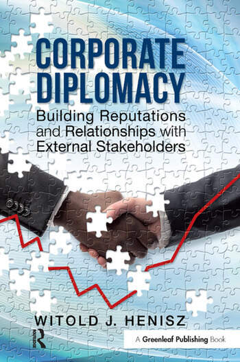 Corporate Diplomacy Building Reputations and Relationships with External Stakeholders book cover
