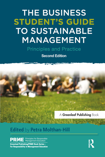 The Business Student's Guide to Sustainable Management Principles and Practice book cover