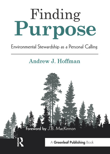 Finding Purpose Environmental Stewardship as a Personal Calling book cover