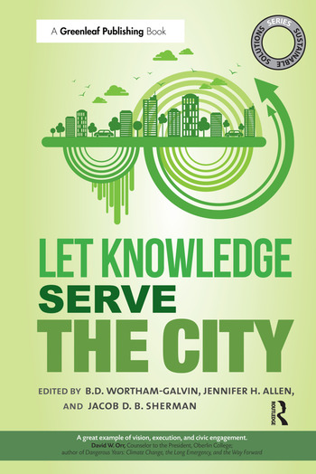 Sustainable Solutions: Let Knowledge Serve the City book cover