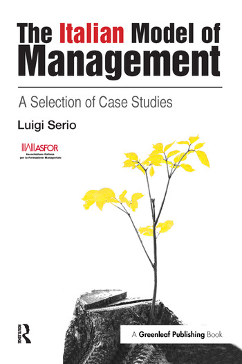The Italian Model of Management A Selection of Case Studies book cover