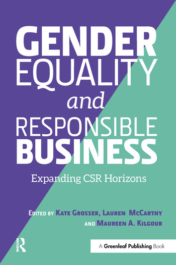 Gender Equality and Responsible Business Expanding CSR Horizons book cover