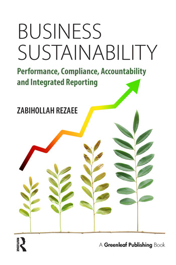 Business Sustainability Performance, Compliance, Accountability and Integrated Reporting book cover