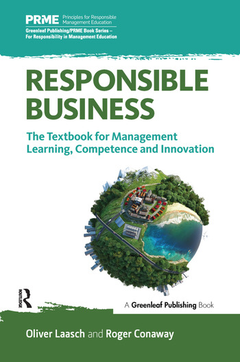 Responsible Business The Textbook for Management Learning, Competence and Innovation book cover