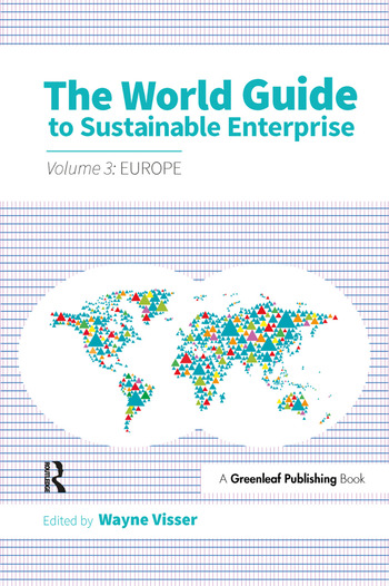 The World Guide to Sustainable Enterprise - Volume 3: Europe book cover