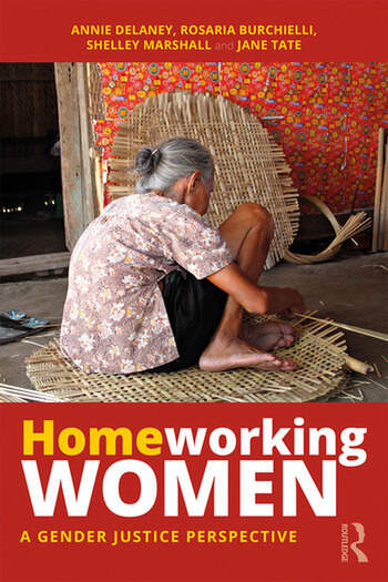 Homeworking Women A Gender Justice Perspective book cover