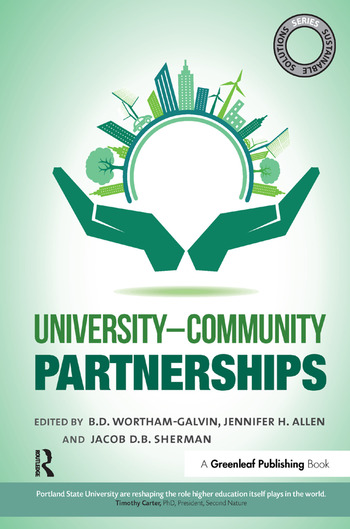 Sustainable Solutions: University–Community Partnerships book cover
