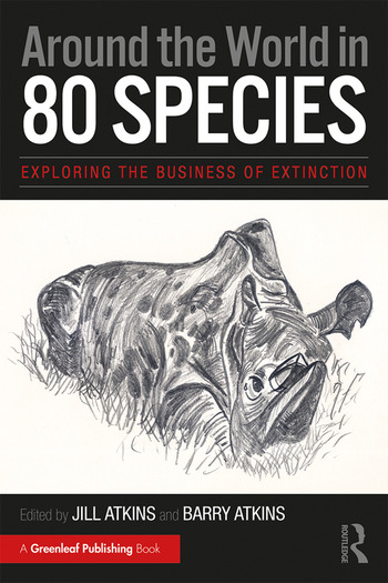 Around the World in 80 Species Exploring the Business of Extinction book cover
