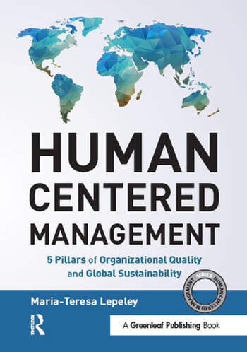 Human Centered Management 5 Pillars of Organizational Quality and Global Sustainability book cover