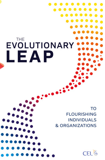 The Evolutionary Leap to Flourishing Individuals and Organizations book cover