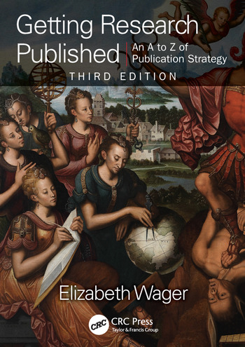 Getting Research Published An A-Z of Publication Strategy, Third Edition book cover