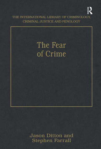 The Fear of Crime book cover