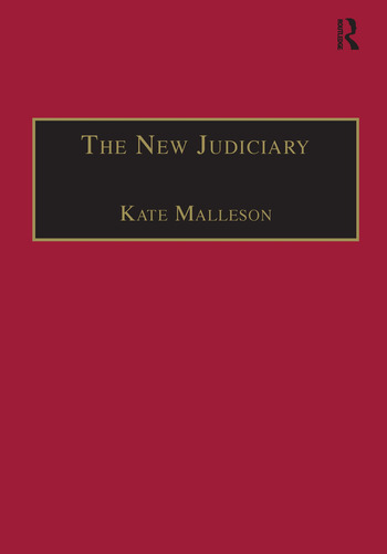 The New Judiciary The Effects of Expansion and Activism book cover