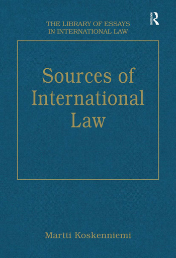 Sources of International Law book cover