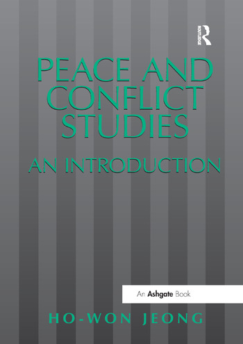 Peace and Conflict Studies An Introduction book cover