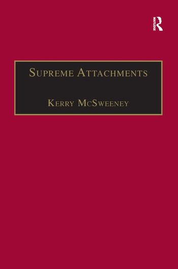 Supreme Attachments Studies in Victorian Love Poetry book cover