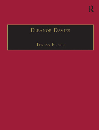 Eleanor Davies Printed Writings 1500–1640: Series I, Part Two, Volume 3 book cover