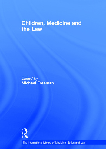 Children, Medicine and the Law book cover