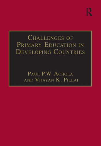 Challenges of Primary Education in Developing Countries Insights from Kenya book cover