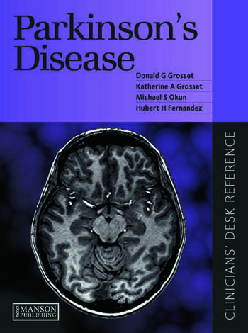 Parkinson's Disease Clinican's Desk Reference book cover