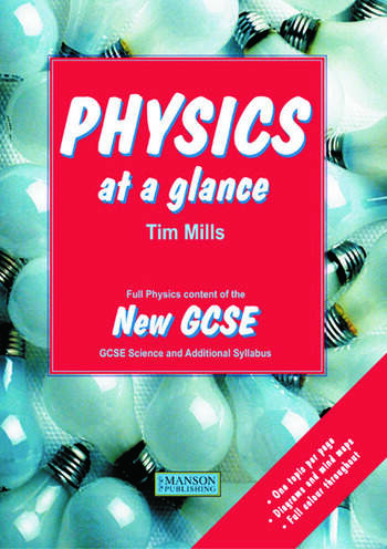 Physics at a Glance Full Physics Content of the New GCSE book cover